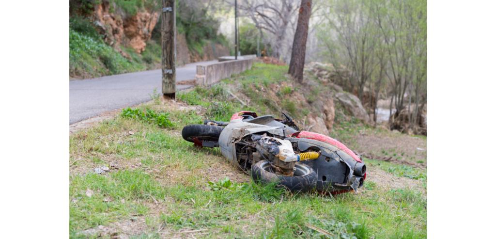 Single-vehicle accident